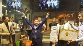 Horecava – Karim Hamouchi wint 'On the Move' met overtuiging
