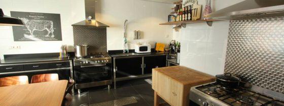 Het Vleesatelier annex de Kookstudio van Slagerij Mulder in Hilversum. Foto: Slagerij Mulder