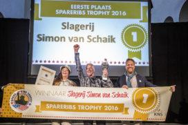 Lees ook: Tien finalisten voor Spareribs Trophy bekendgemaakt