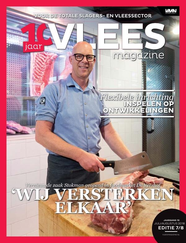 Vleesmagazine nummer 7/8 2018