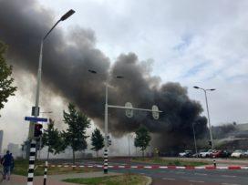 Brand treft onderverhuurd pand poeliersbedrijf in Arnhem