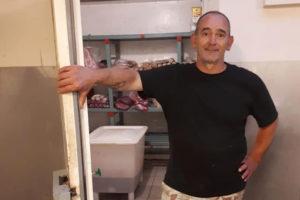 Slager Roks urenlang opgesloten in koelcel