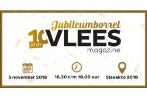 Vleesmagazine viert 10-jarig bestaan op Slavakto