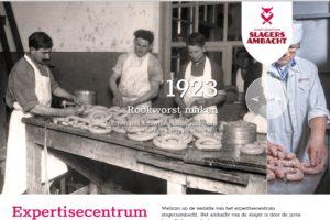 Expertisecentrum voor het Slagersambacht lanceert website