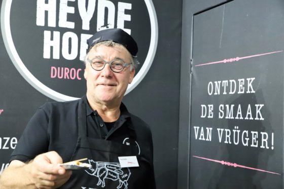 De Heyde Hoeve is een samenwerking van varkenshouders met een missie. Ook zij geven acte de présence op de Slavakto. Foto: Peter Garstenveld