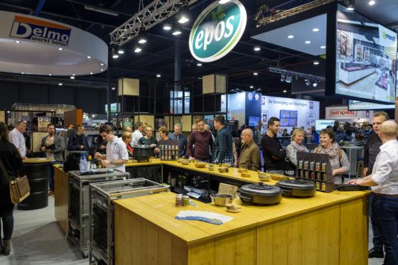 Epos maakte van de gelegenheid gebruik om een nieuwe innovatie te onthullen, de nieuwe kruidenlijn Simple Spices. (C) Roel Dijkstra Fotografie / Foto : Fred Libochant