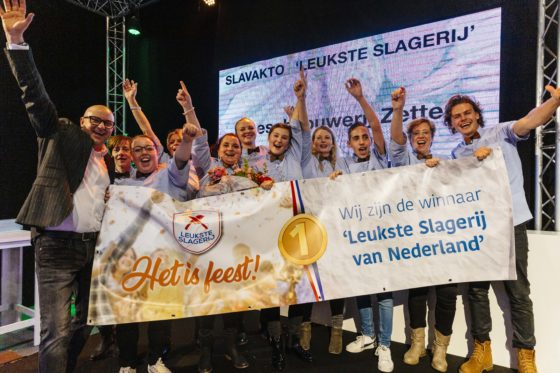 Vleeschhouwerij Zetten werd in november 2018 uitgeroepen tot de Leukste Slagerij van Nederland 2018. (foto: Feike Faase)