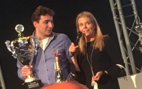 Carst Jan van de Wetering is de Nederlandse Jeugd Kampioen van de Slavakto Vakwedstrijden. Foto: Marijke Buijs