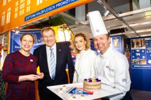 Ministers bezoeken VanDrie Group op Grüne Woche
