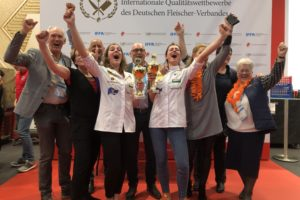 Nederland wint allerlaatste Young Butchers's Competition