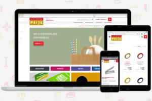 Peijs Verpakkingen lanceert nieuwe webshop