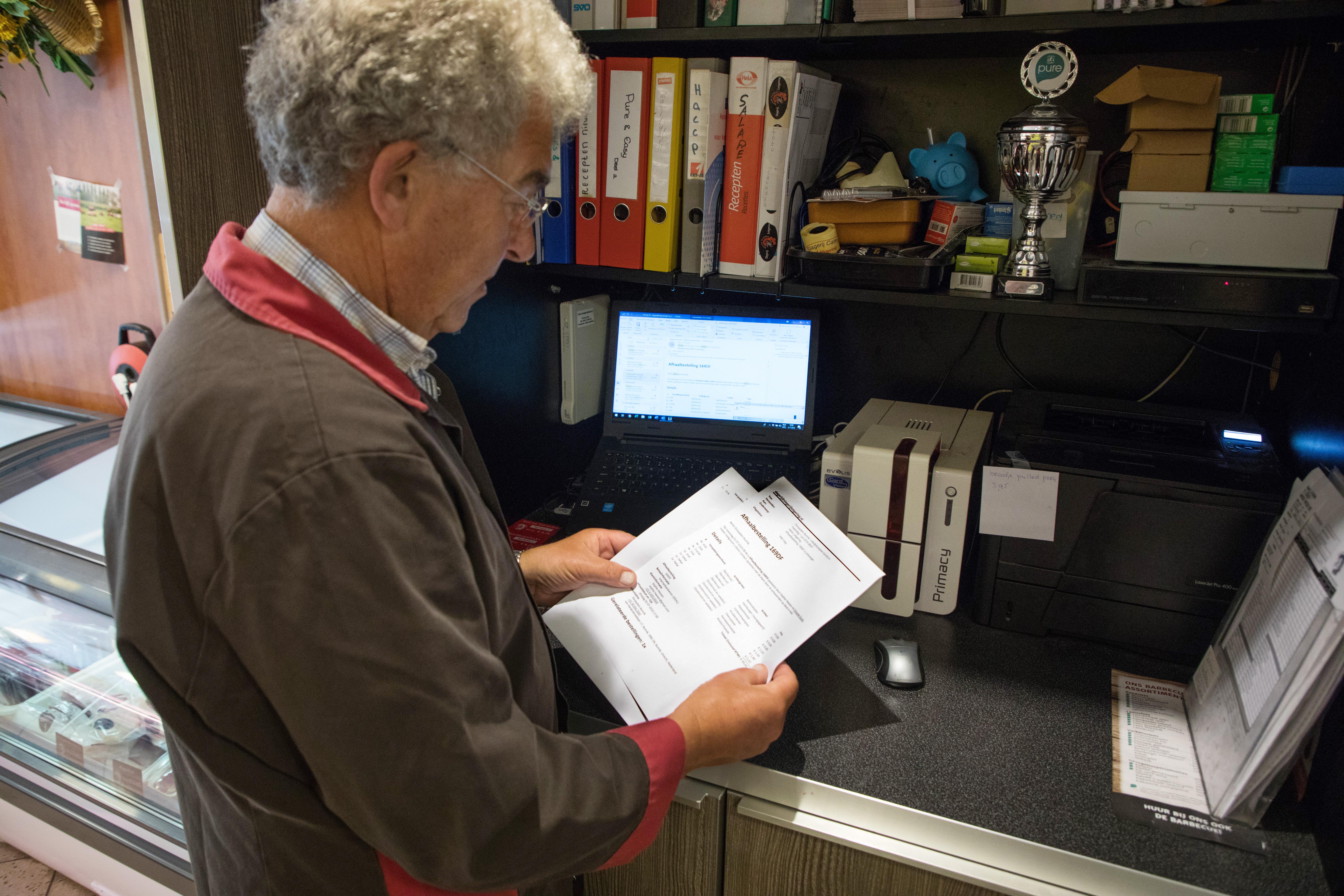Henk Lotgering is voorstander van digitale vernieuwing.