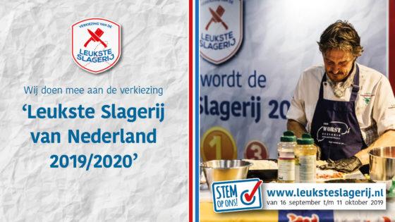 Stemmingen Leukste Slagerij in  volle gang
