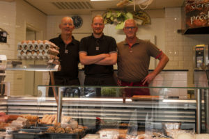 Twee slagers in het dorp Burgum gaan samen verder